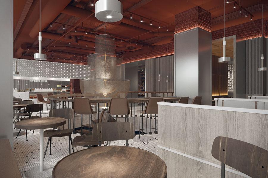 ý tưởng thiết kế quán cafe bar sang trọng ảnh 13