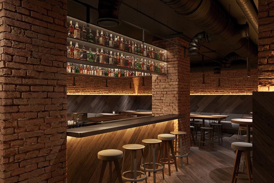 ý tưởng thiết kế quán cafe bar sang trọng ảnh 14