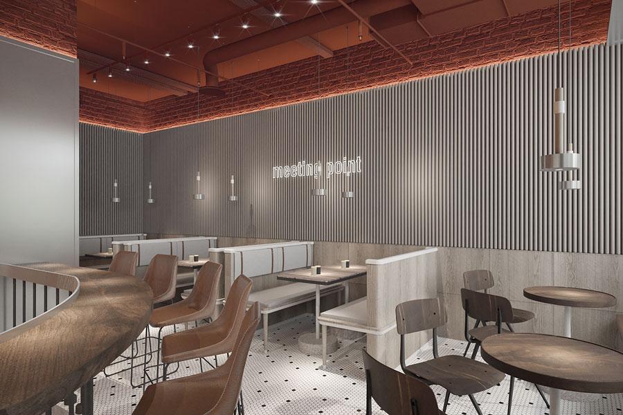 ý tưởng thiết kế quán cafe bar sang trọng ảnh 15