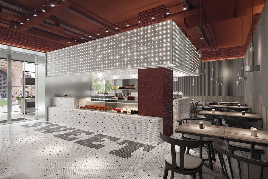 ý tưởng thiết kế quán cafe bar sang trọng ảnh 16