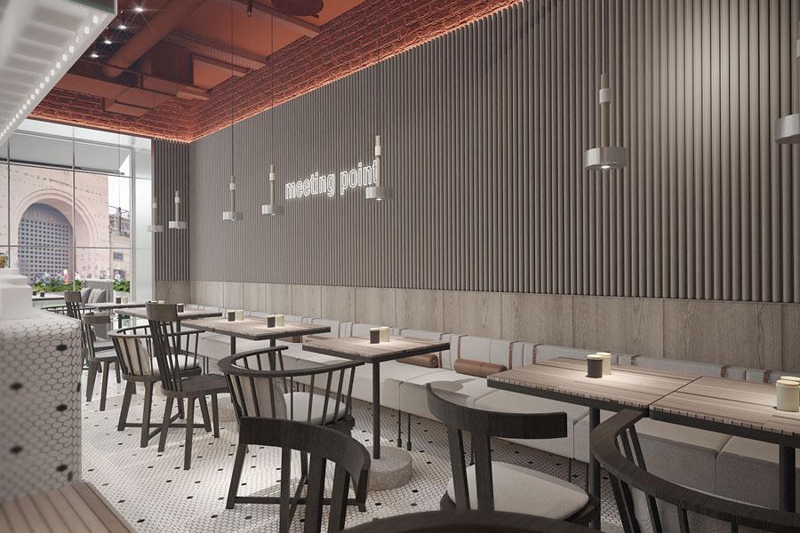 ý tưởng thiết kế quán cafe bar sang trọng ảnh 17