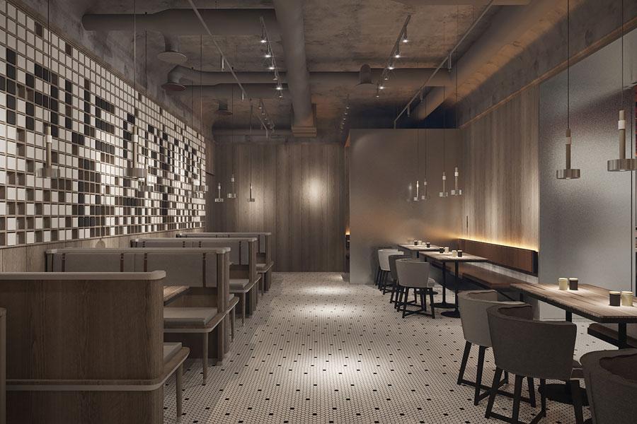 ý tưởng thiết kế quán cafe bar sang trọng ảnh 4