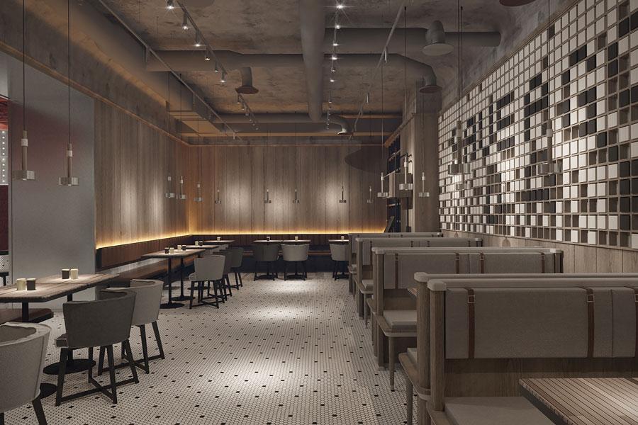 ý tưởng thiết kế quán cafe bar sang trọng ảnh 5