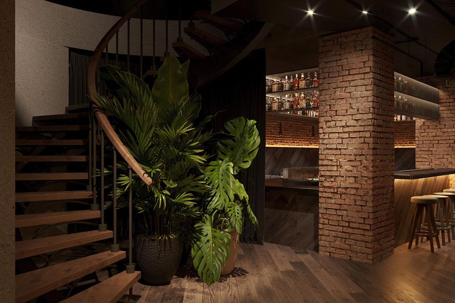 ý tưởng thiết kế quán cafe bar sang trọng ảnh 6