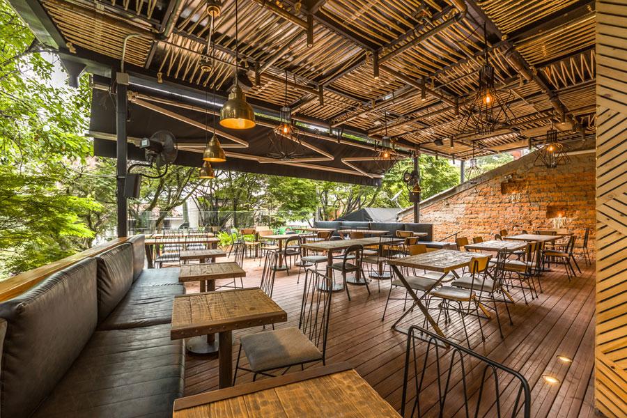 thiết kế quán cafe rocoto ảnh 10