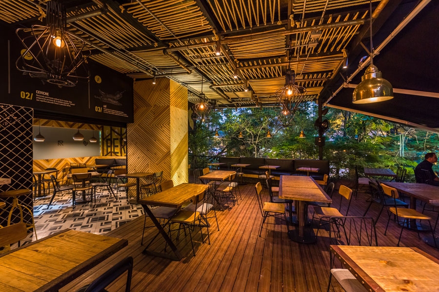 thiết kế quán cafe rocoto ảnh 22