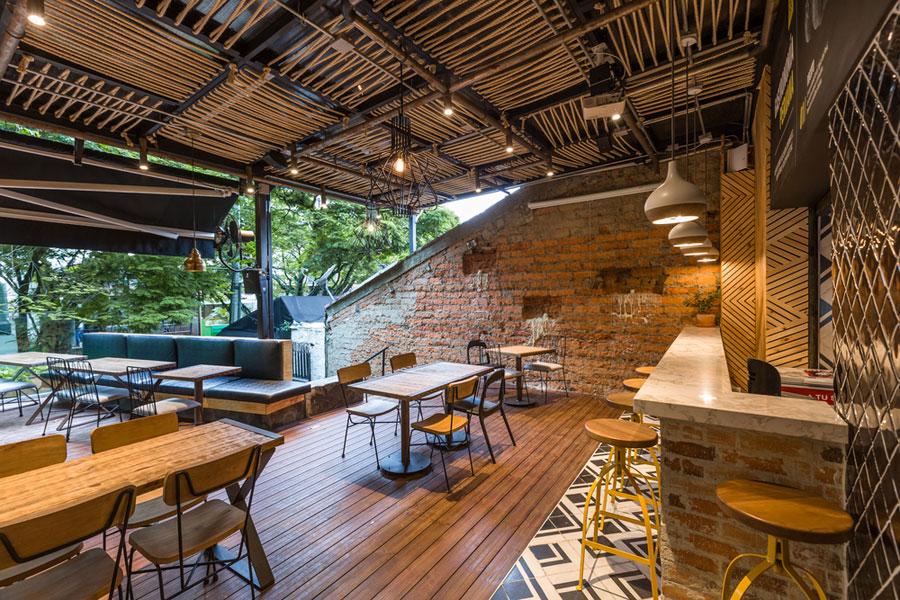 thiết kế quán cafe rocoto ảnh 3