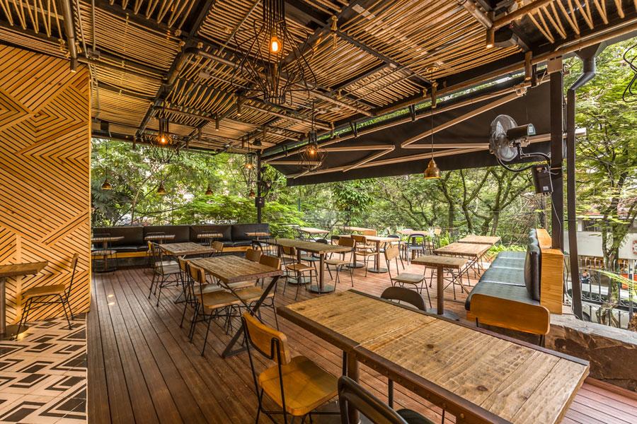 thiết kế quán cafe rocoto ảnh 9
