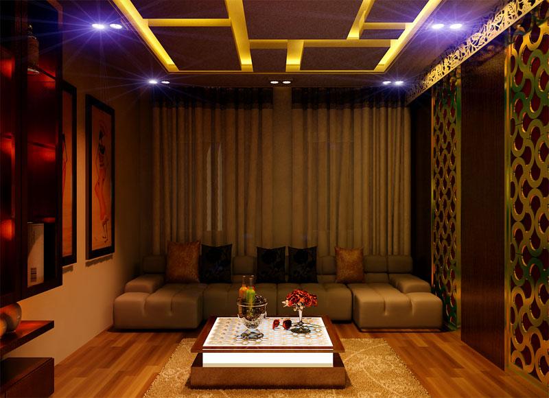 sàn karaoke bằng gỗ