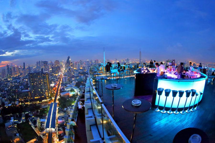 thiết kế quán bar sân thượng ảnh 11
