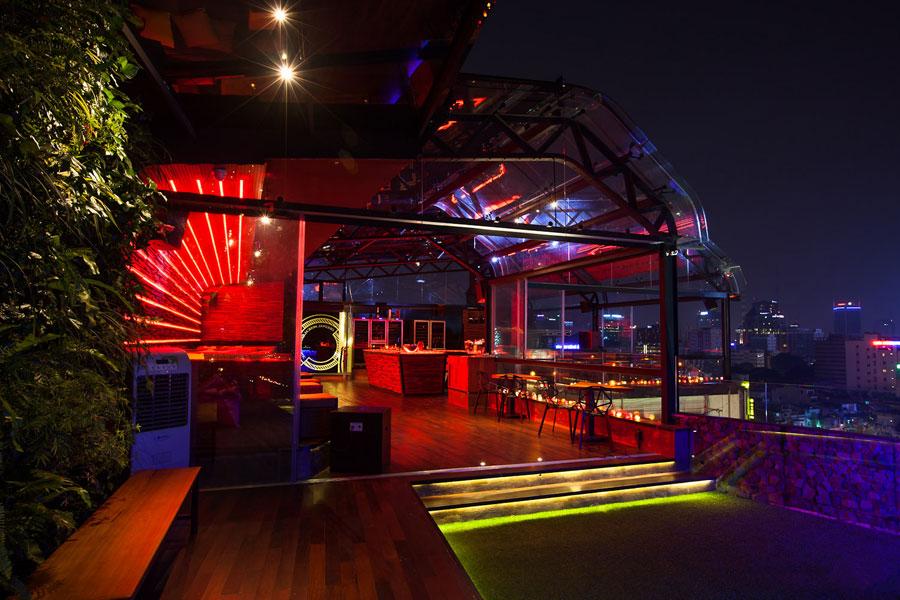 thiết kế quán bar sân thượng ảnh 12