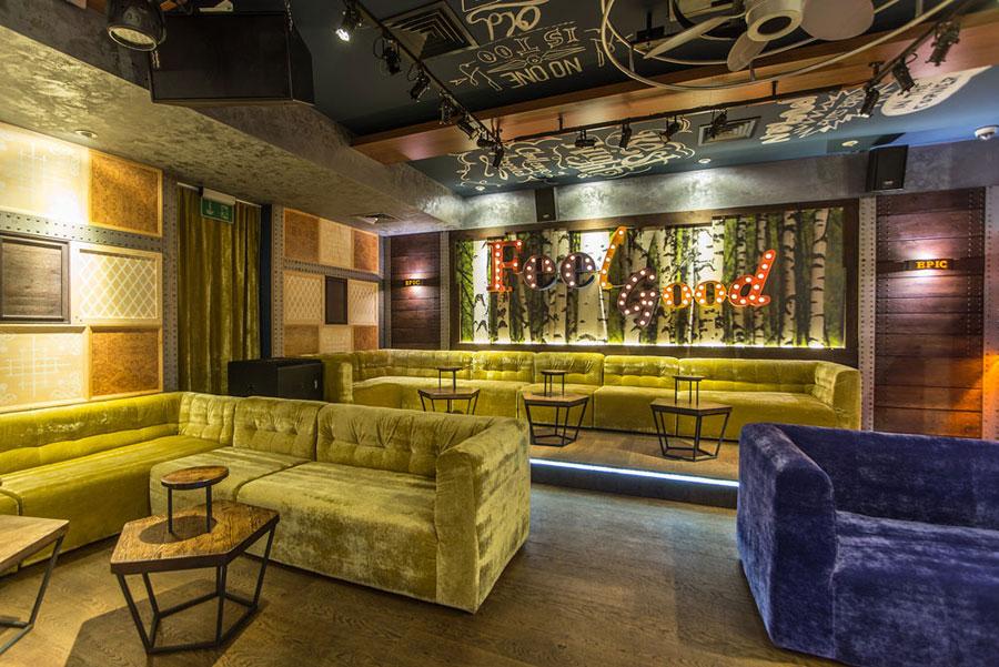 thiết kế nội thất quán pub beer club ảnh 10