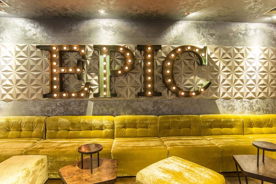 thiết kế nội thất quán pub beer club ảnh 11