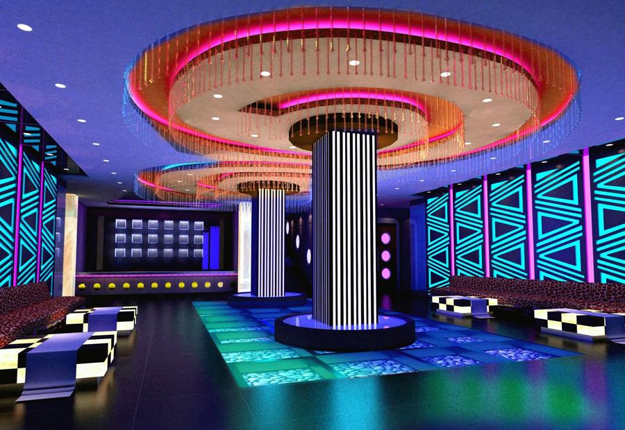 thiết kế nội thất quán pub beer club ảnh 3