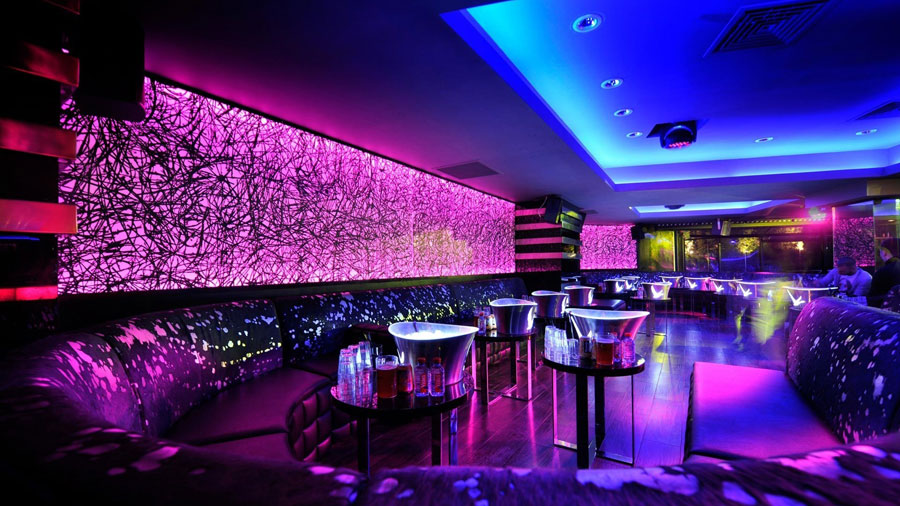 thiết kế nội thất quán pub beer club ảnh 4