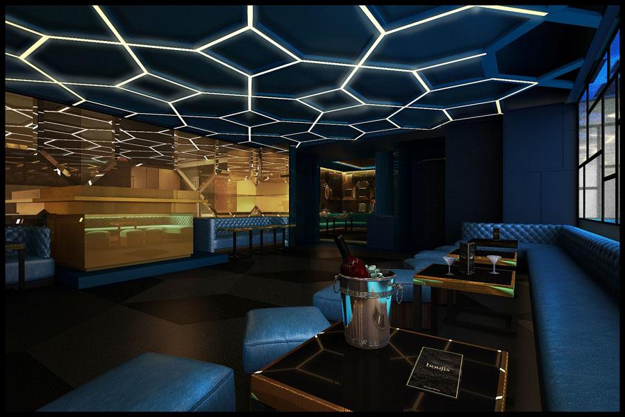 thiết kế nội thất quán pub beer club ảnh 5