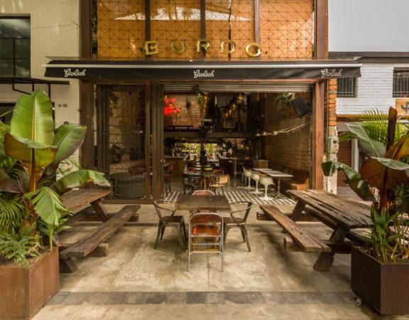 thiết kế quán cafe burdo 1