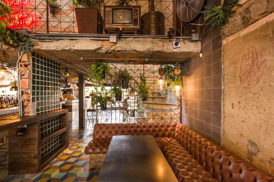 thiết kế quán cafe burdo 15