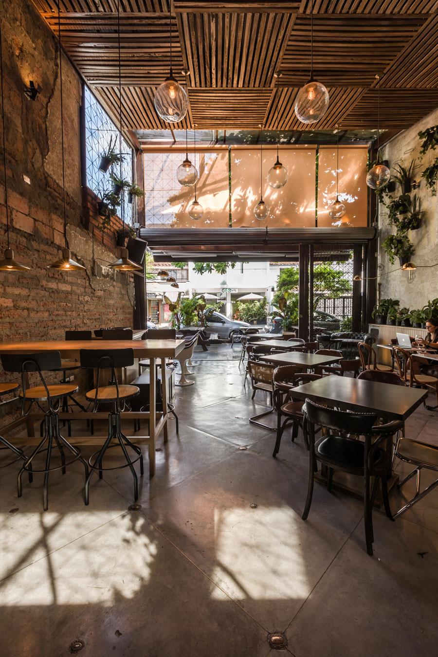 thiết kế quán cafe burdo 18