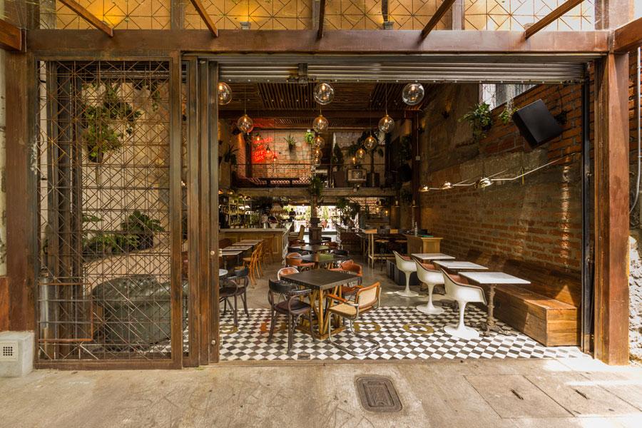 thiết kế quán cafe burdo 2