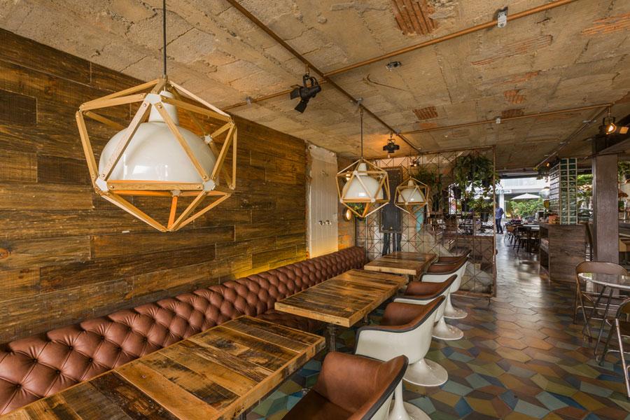 thiết kế quán cafe burdo 20