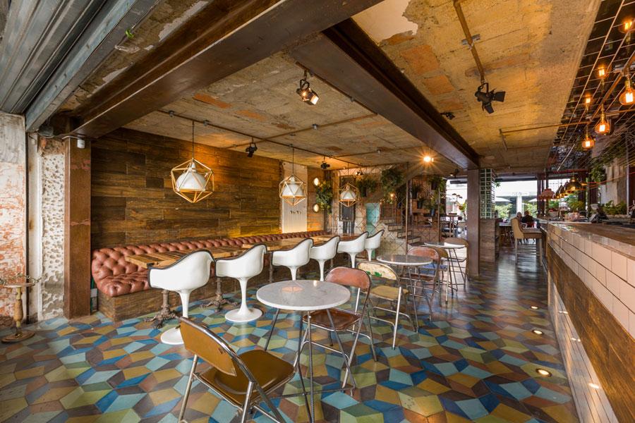 thiết kế quán cafe burdo 22
