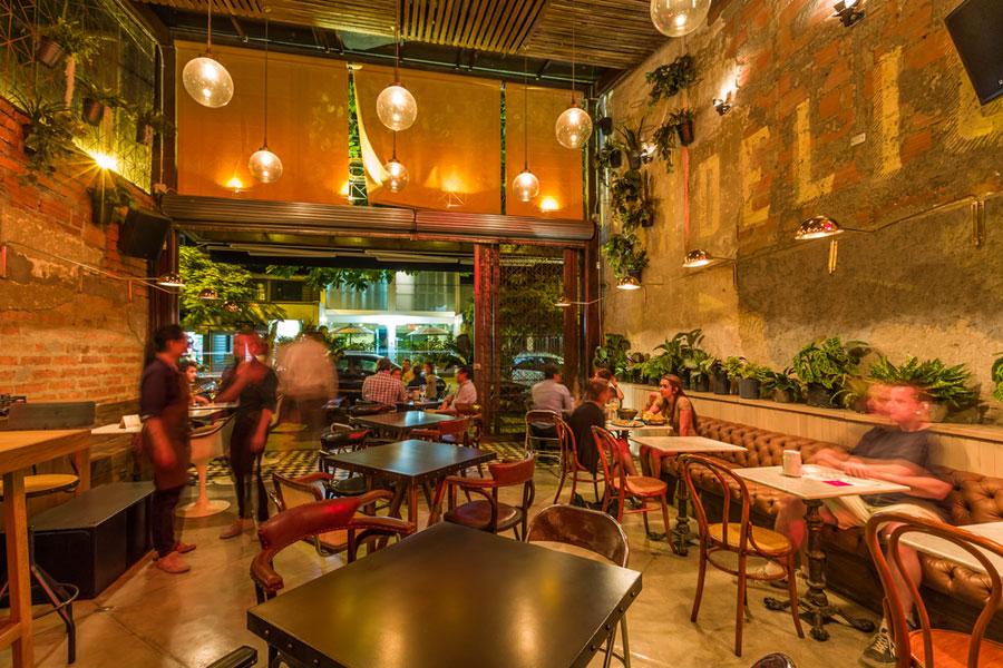 thiết kế quán cafe burdo 25