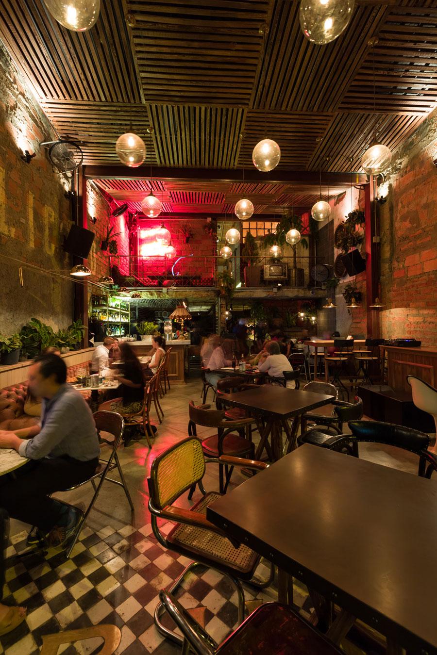 thiết kế quán cafe burdo 26
