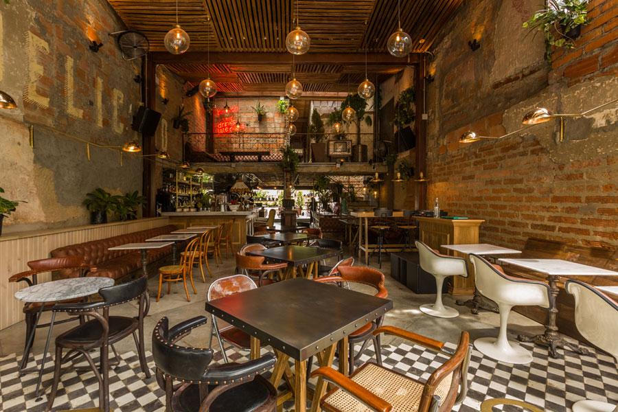 thiết kế quán cafe burdo 3