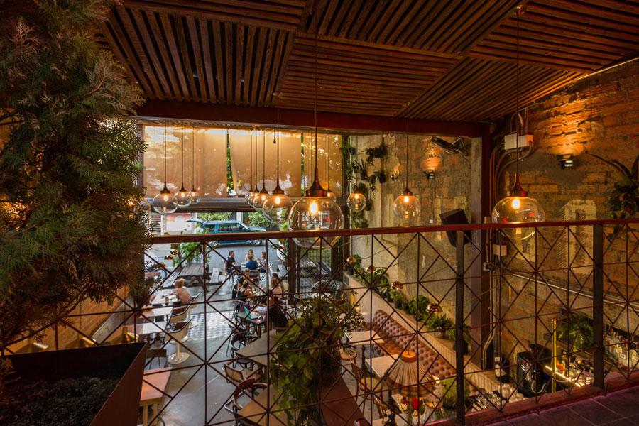 thiết kế quán cafe burdo 32