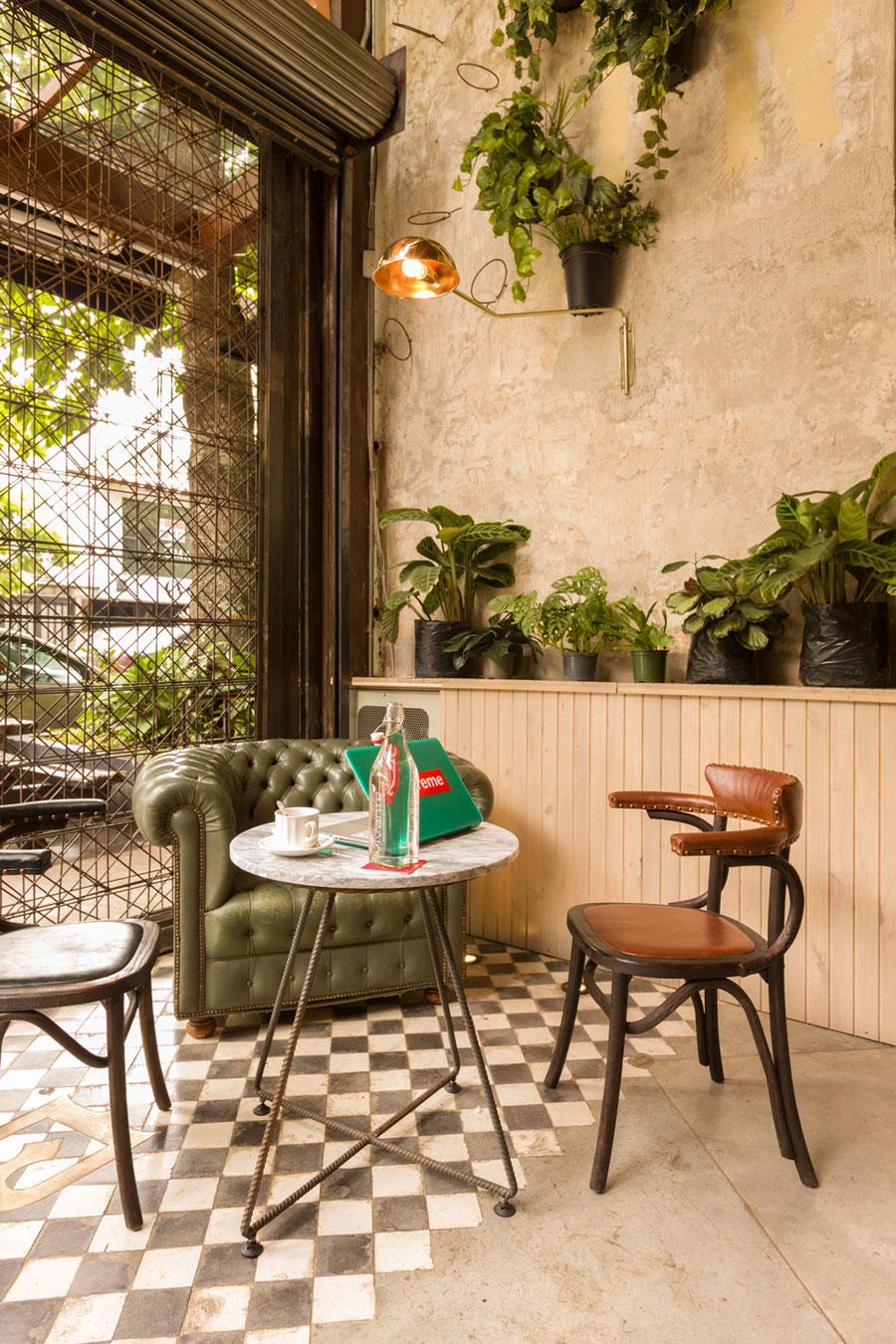 thiết kế quán cafe burdo 4