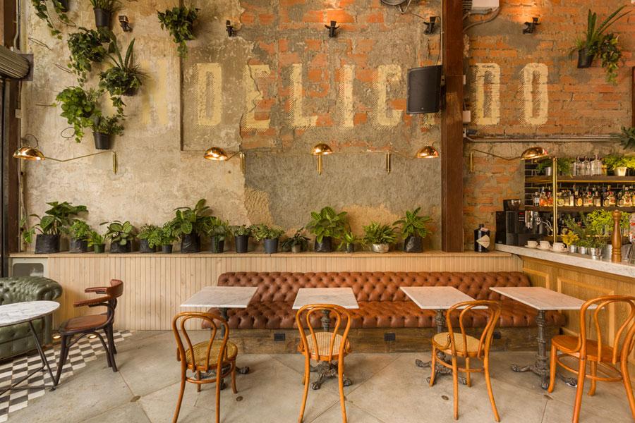 thiết kế quán cafe burdo 6