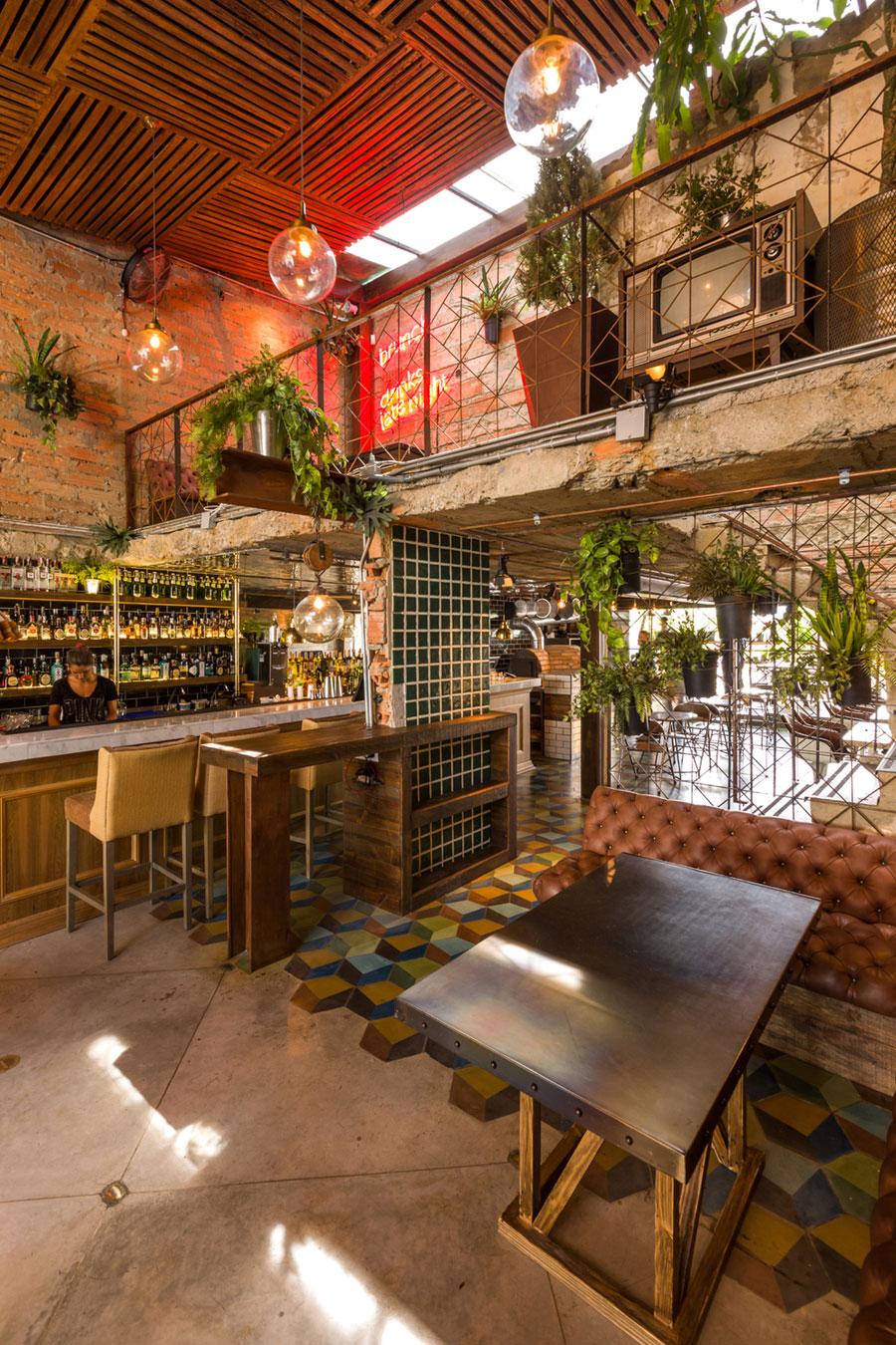 thiết kế quán cafe burdo 7