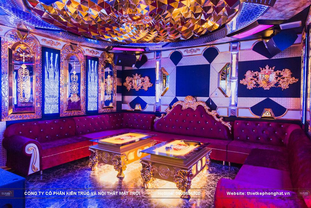 thiết kế thi công phòng karaoke siêu vip ảnh 3