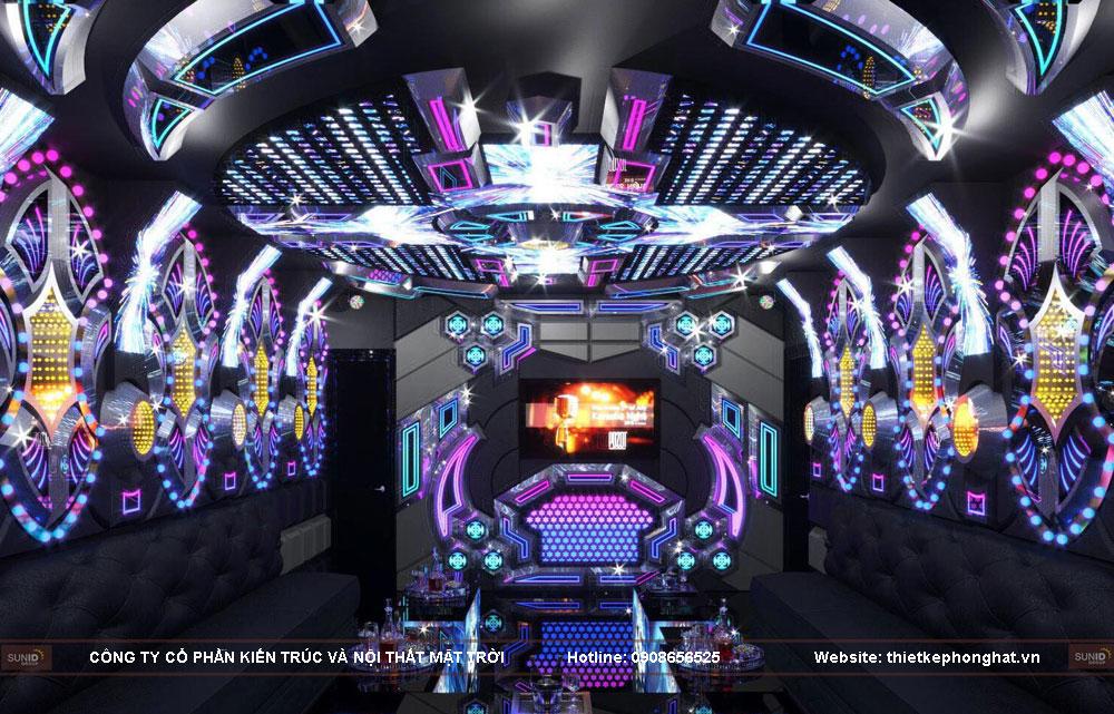 thiết kế thi công phòng karaoke siêu vip ảnh 4