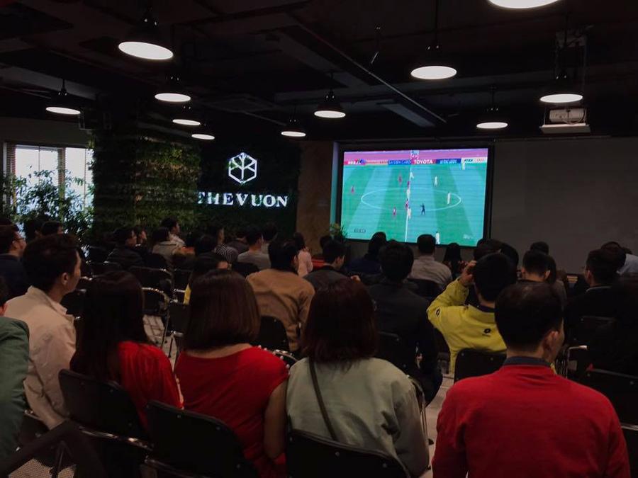 thiết kế quán cafe bóng đá 2018
