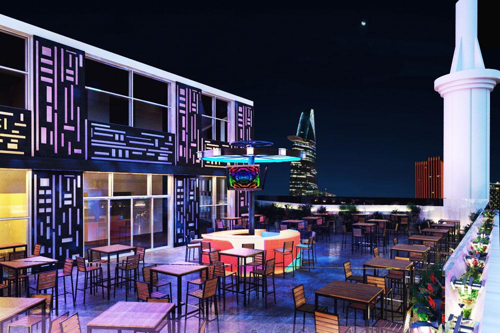 Thiết kế quán beer club đẹp 12