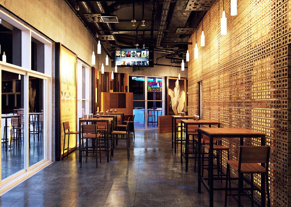 Thiết kế quán beer club đẹp 13