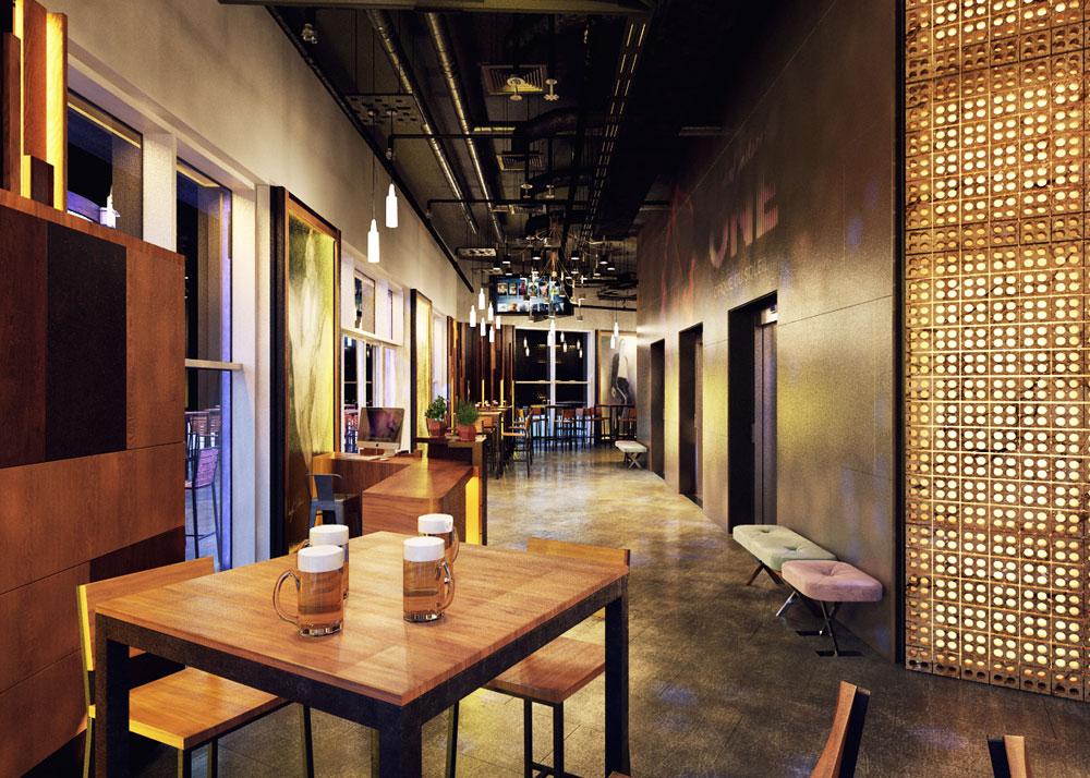 Thiết kế quán beer club đẹp 3