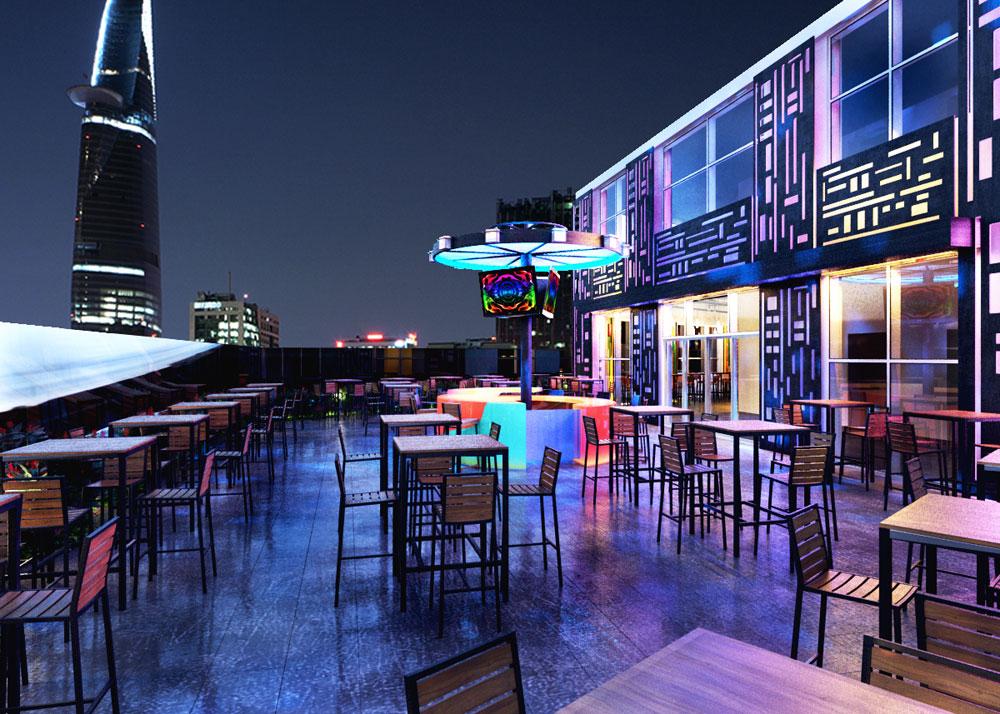 Thiết kế quán beer club đẹp 6