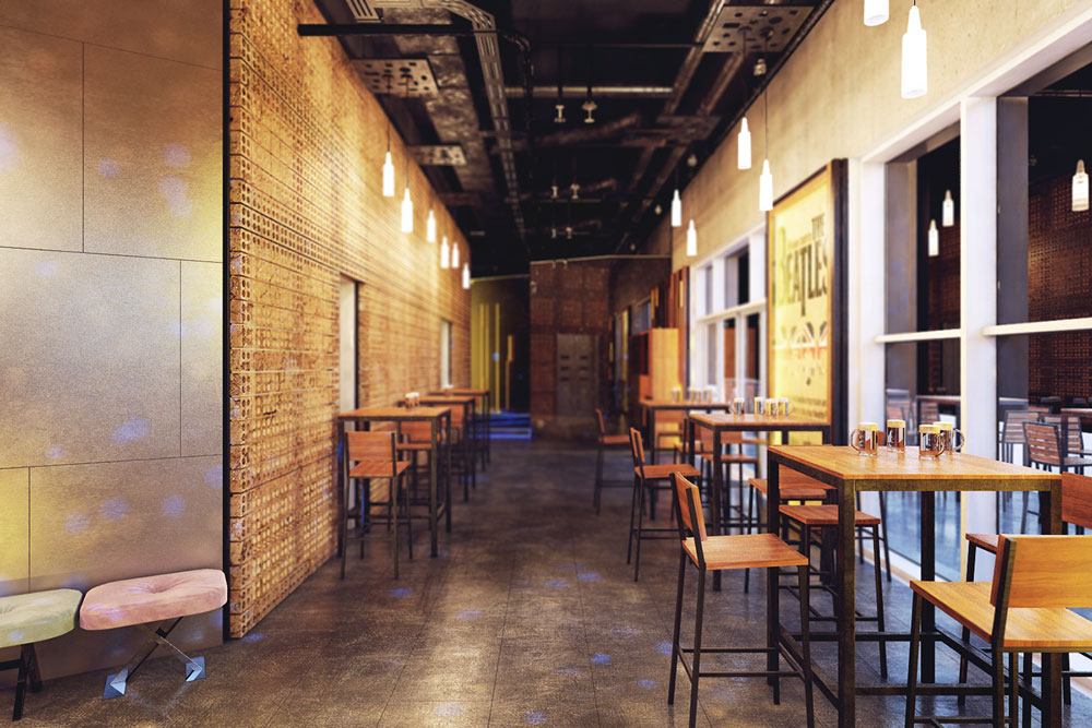 Thiết kế quán beer club đẹp 8