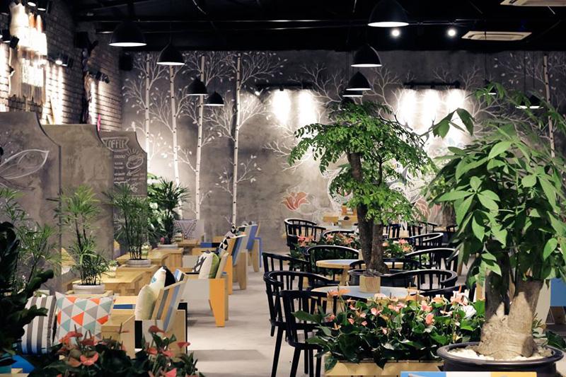 ý tưởng thiết kế quán cafe độc đáo 2