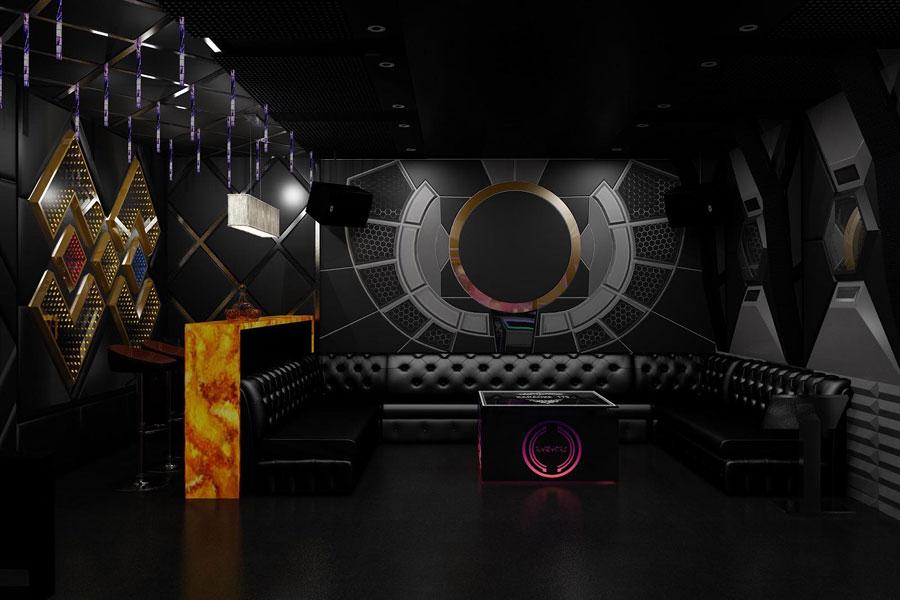 thiết kế thi công karaoke tại vinhome greenbay 1