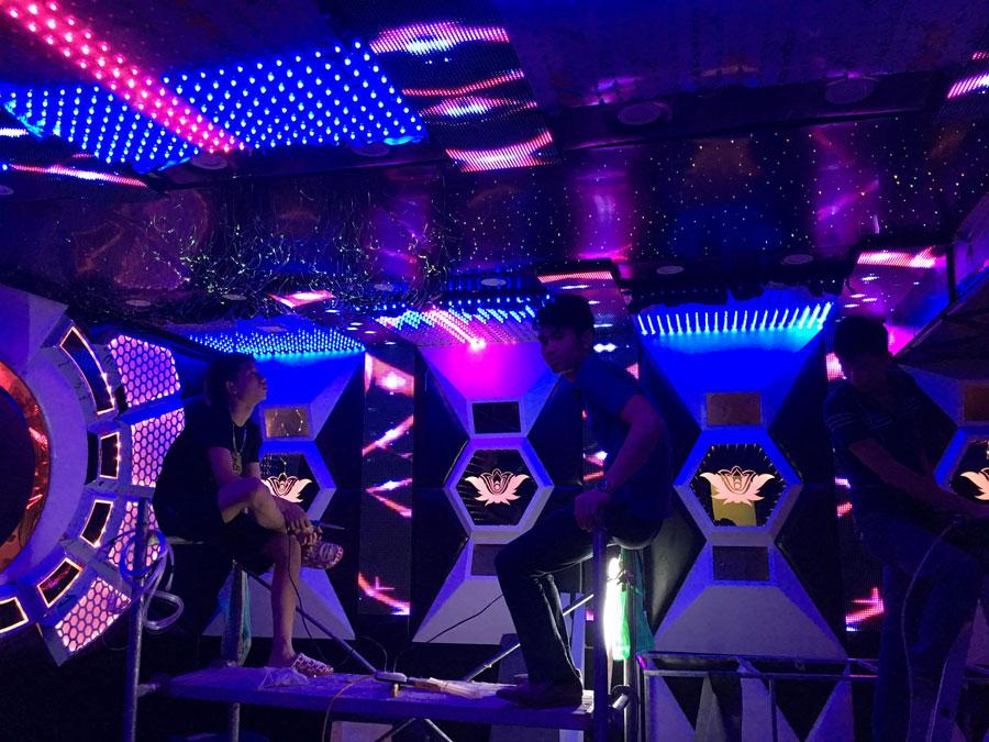 thiết kế thi công karaoke tại vinhome greenbay 15