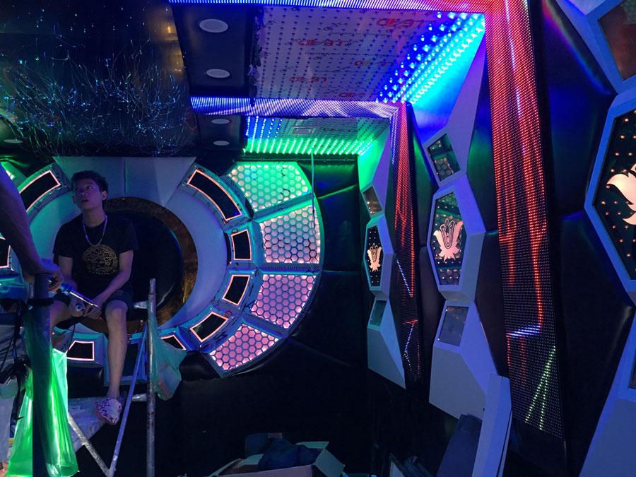 thiết kế thi công karaoke tại vinhome greenbay 17