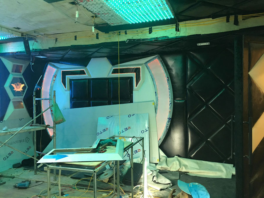 thiết kế thi công karaoke tại vinhome greenbay 18