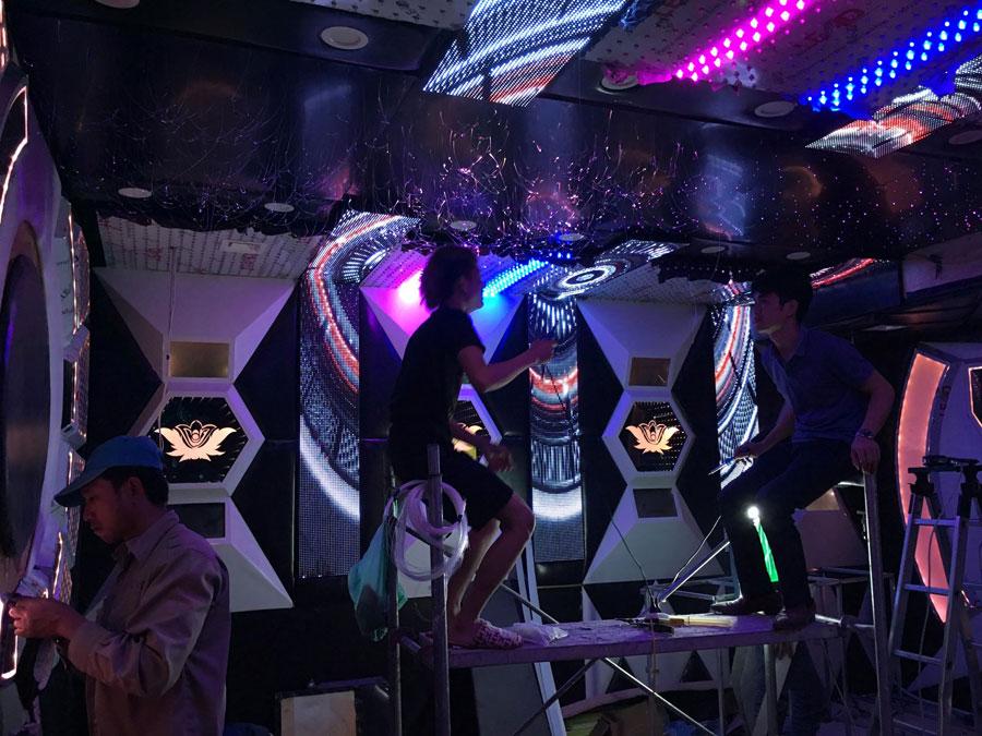 thiết kế thi công karaoke tại vinhome greenbay 19