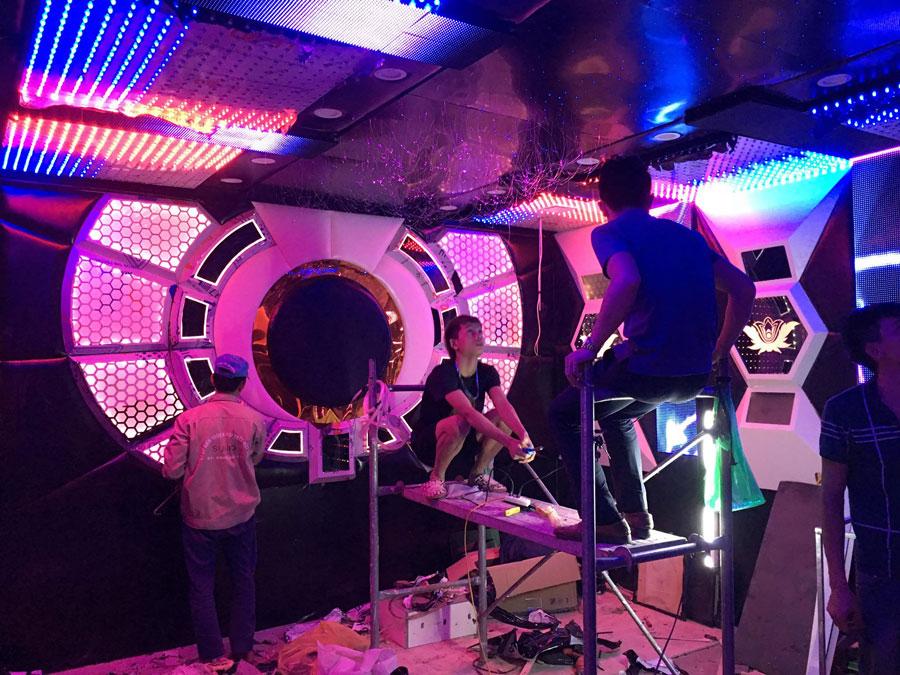 thiết kế thi công karaoke tại vinhome greenbay 20