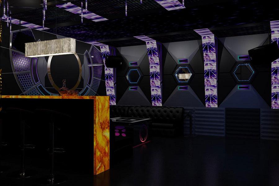 thiết kế thi công karaoke tại vinhome greenbay 21