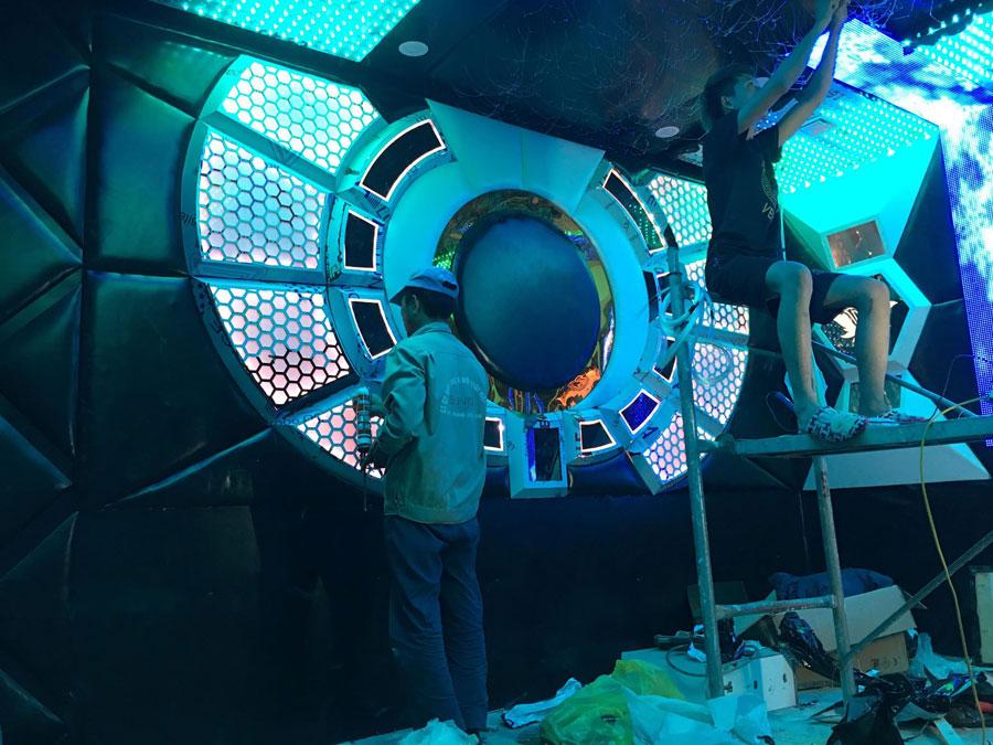 thiết kế thi công karaoke tại vinhome greenbay 22